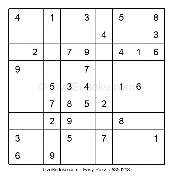 Beginners Puzzle #350218