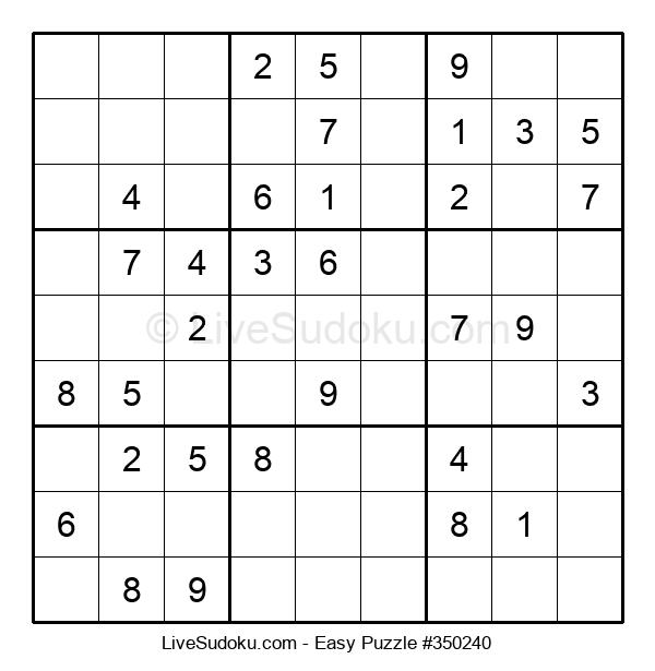 Beginners Puzzle #350240