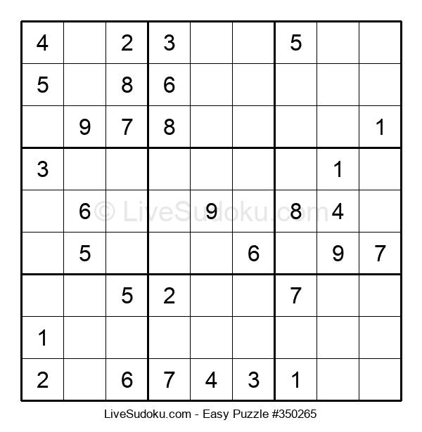 Beginners Puzzle #350265