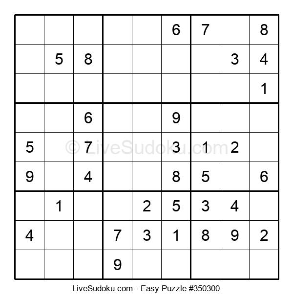 Beginners Puzzle #350300