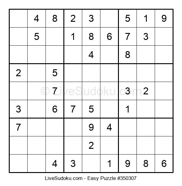 Beginners Puzzle #350307
