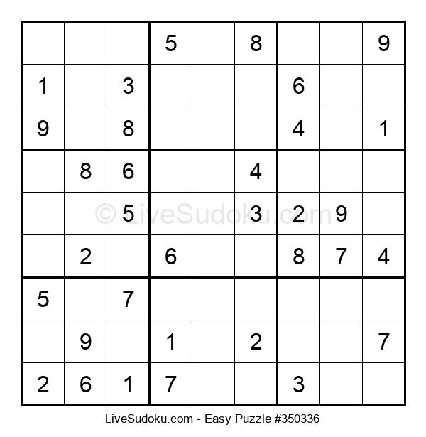 Beginners Puzzle #350336