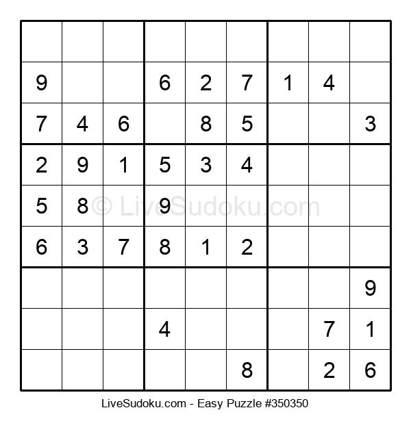 Beginners Puzzle #350350