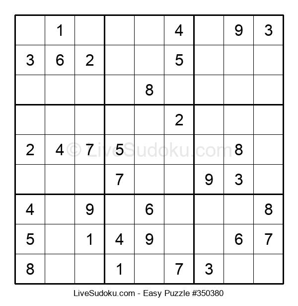 Beginners Puzzle #350380