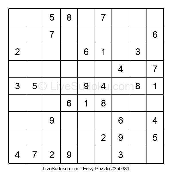 Beginners Puzzle #350381