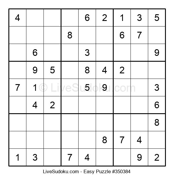 Beginners Puzzle #350384