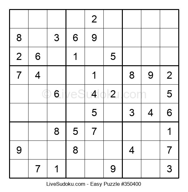 Beginners Puzzle #350400