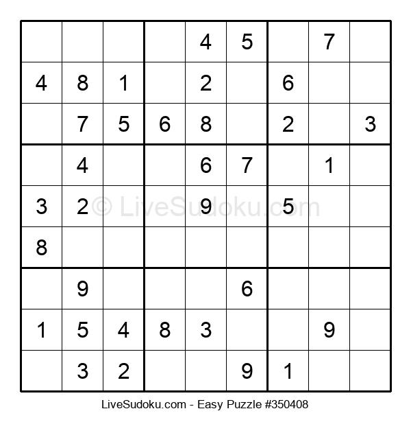 Beginners Puzzle #350408