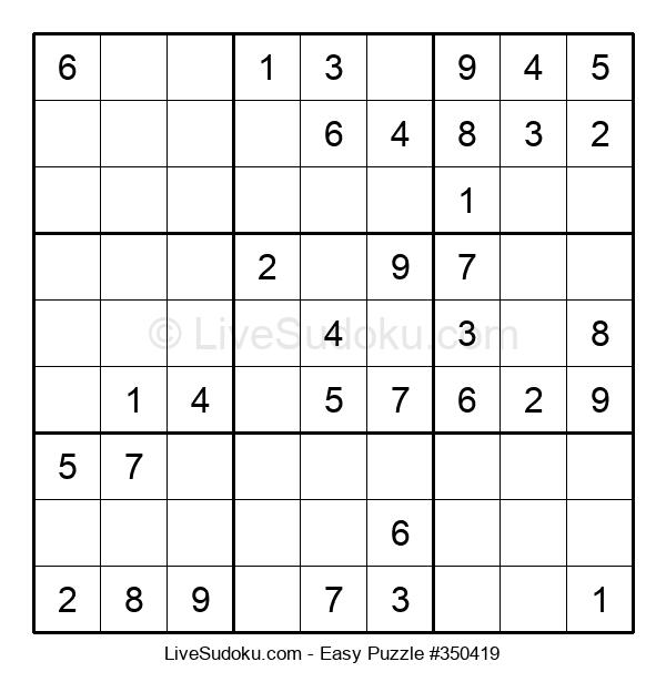 Beginners Puzzle #350419