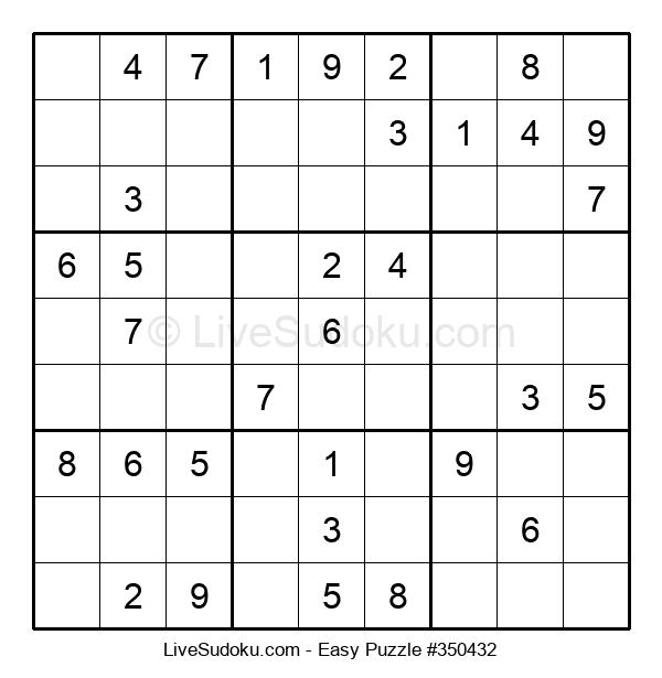 Beginners Puzzle #350432
