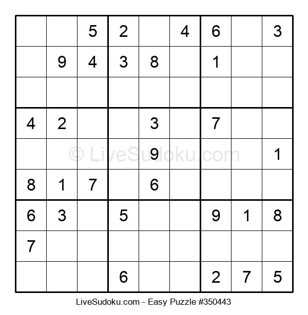 Beginners Puzzle #350443