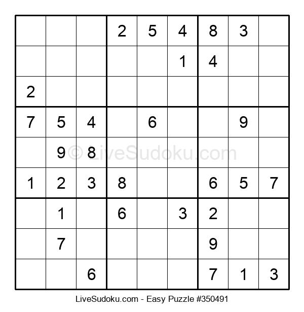 Beginners Puzzle #350491