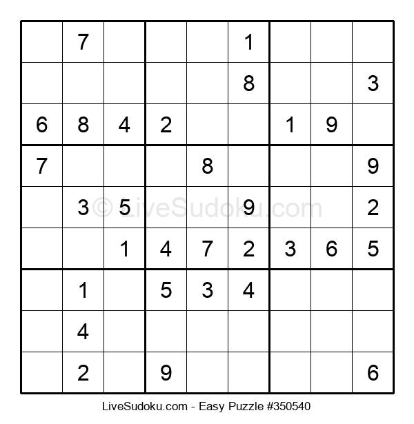 Beginners Puzzle #350540