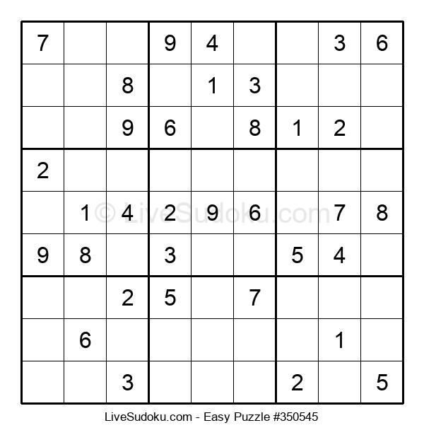 Beginners Puzzle #350545