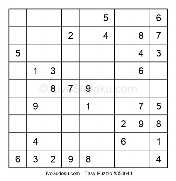 Beginners Puzzle #350643