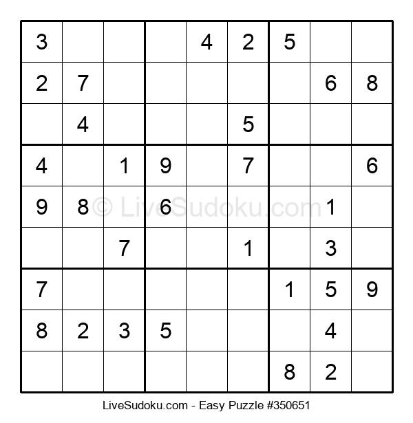 Beginners Puzzle #350651