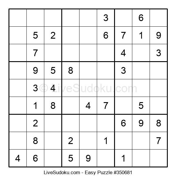 Beginners Puzzle #350681