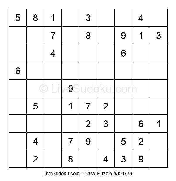 Beginners Puzzle #350738
