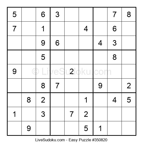 Beginners Puzzle #350820
