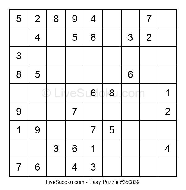 Beginners Puzzle #350839