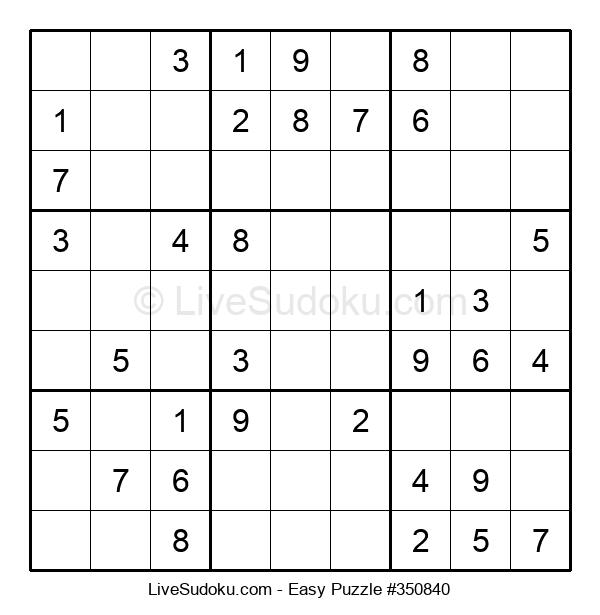Beginners Puzzle #350840