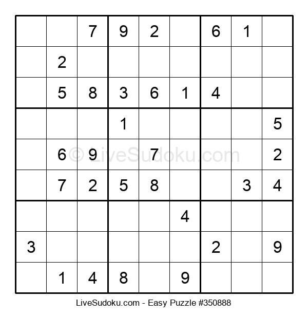 Beginners Puzzle #350888