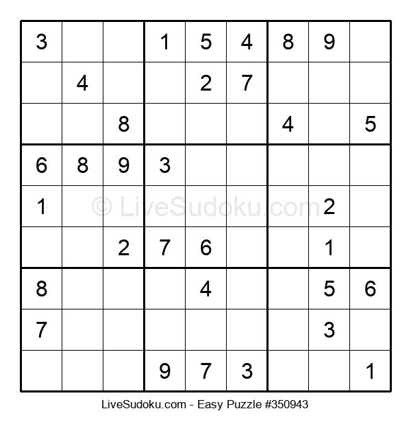 Beginners Puzzle #350943