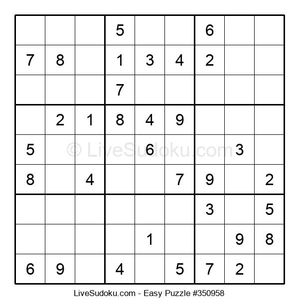 Beginners Puzzle #350958