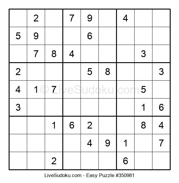 Beginners Puzzle #350981