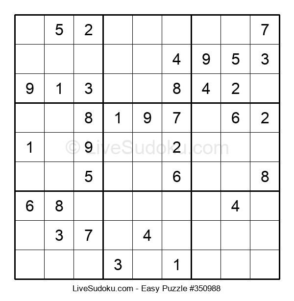 Beginners Puzzle #350988