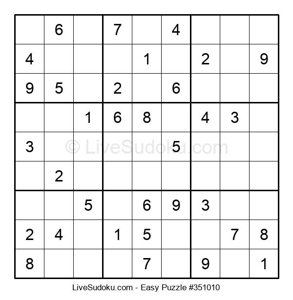 Beginners Puzzle #351010