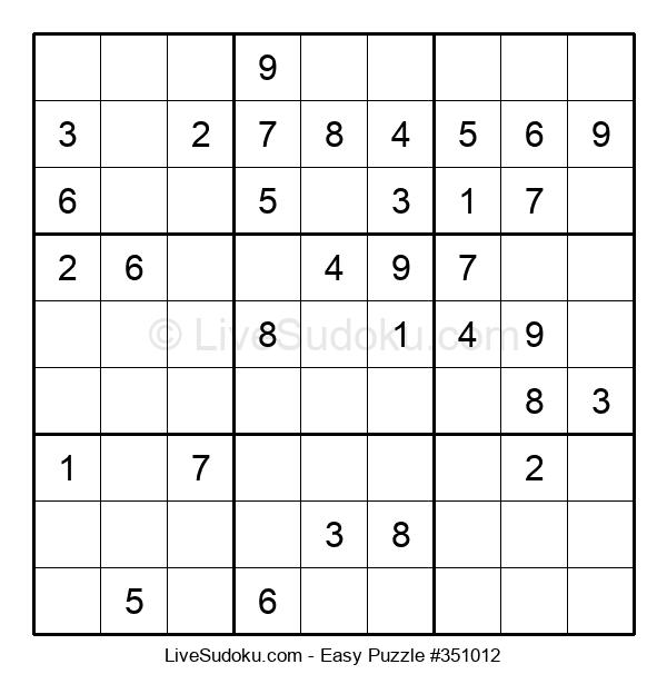 Beginners Puzzle #351012