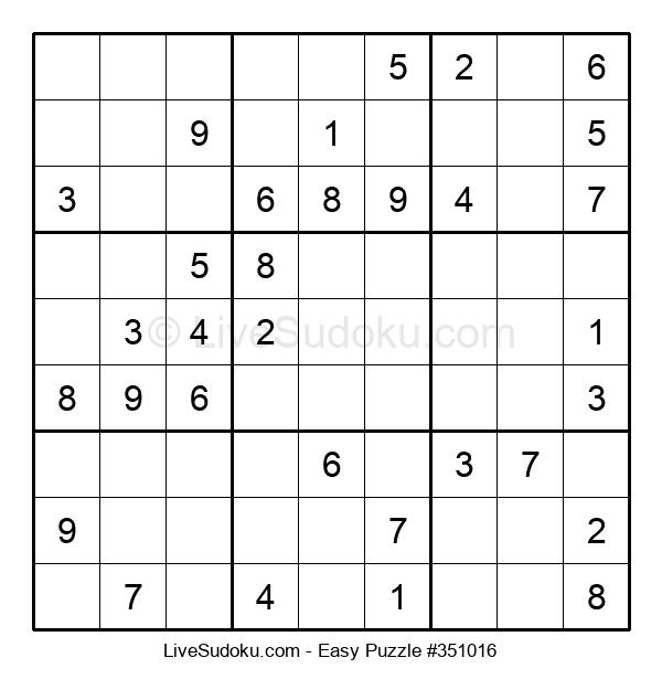 Beginners Puzzle #351016