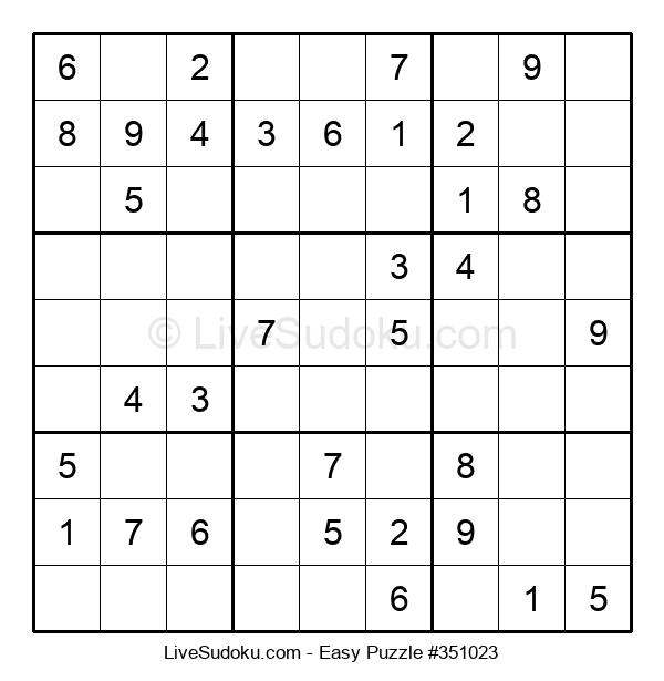 Beginners Puzzle #351023