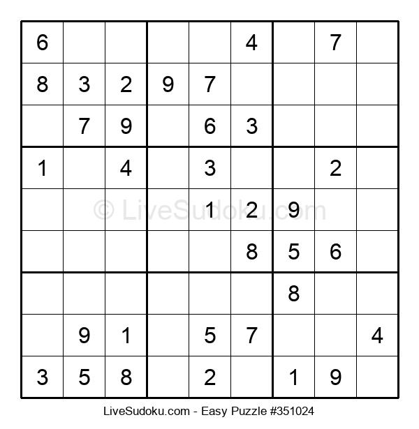 Beginners Puzzle #351024