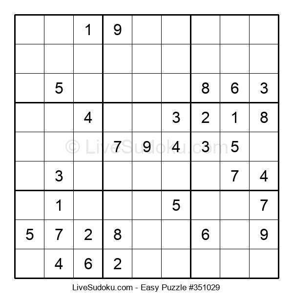 Beginners Puzzle #351029