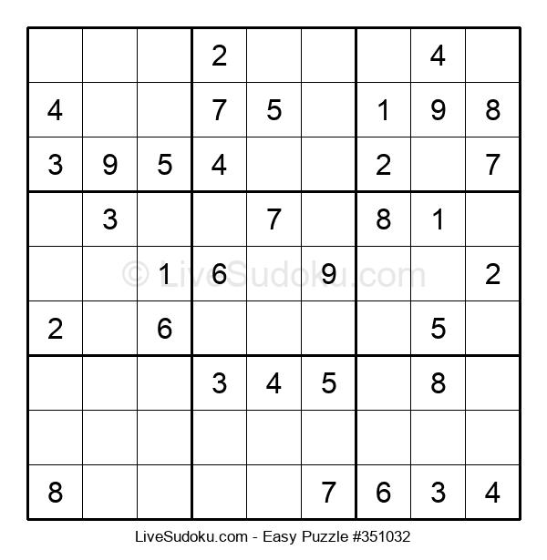 Beginners Puzzle #351032