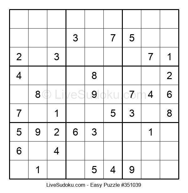 Beginners Puzzle #351039
