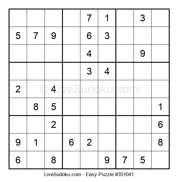 Beginners Puzzle #351041
