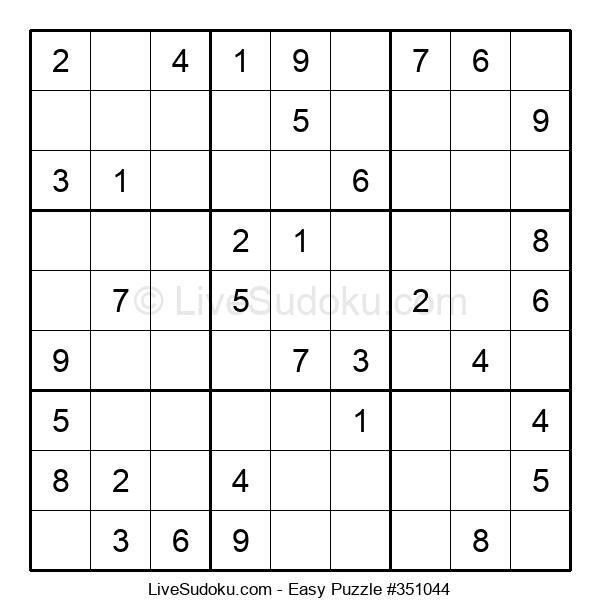 Beginners Puzzle #351044