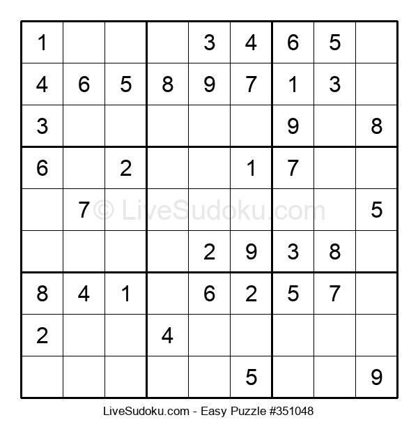 Beginners Puzzle #351048