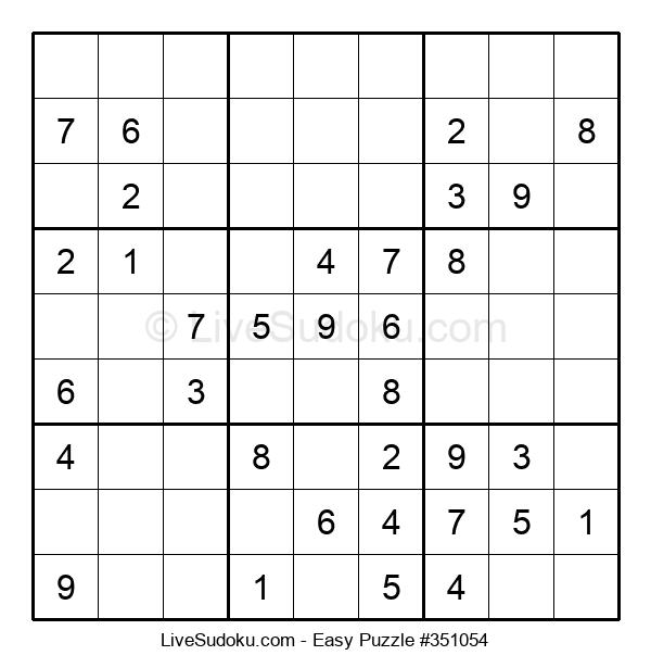 Beginners Puzzle #351054