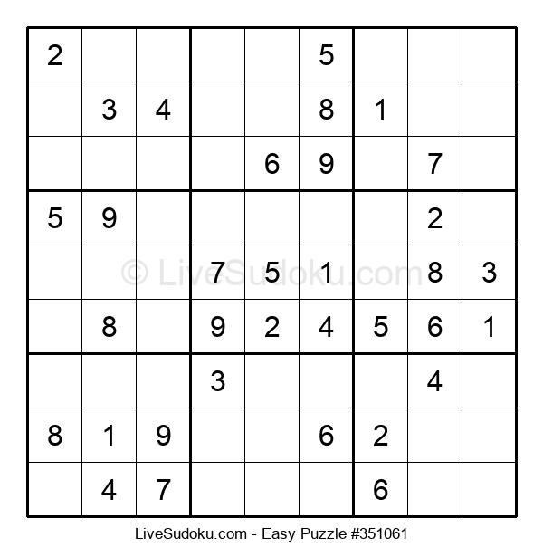 Beginners Puzzle #351061