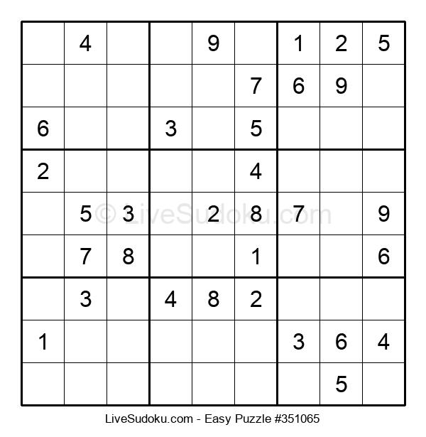 Beginners Puzzle #351065