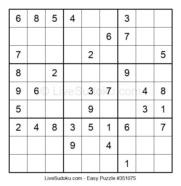 Beginners Puzzle #351075