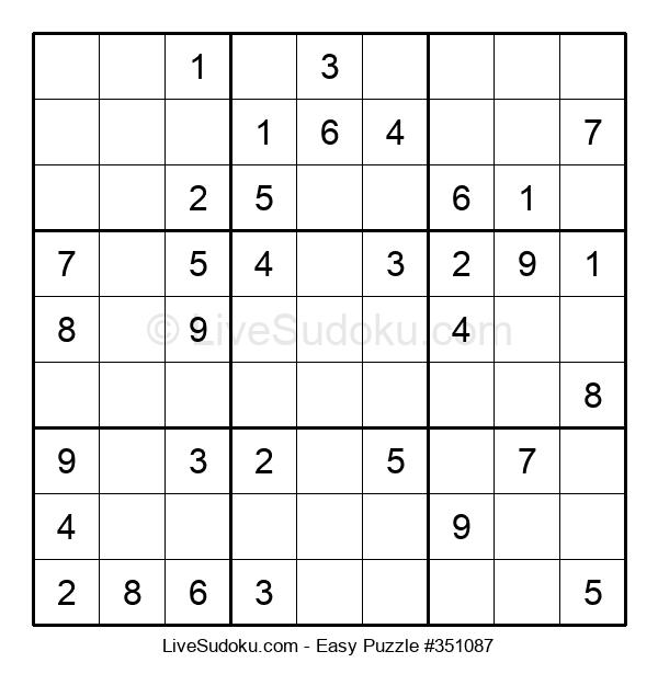 Beginners Puzzle #351087