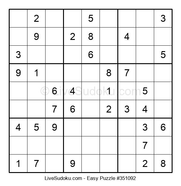 Beginners Puzzle #351092