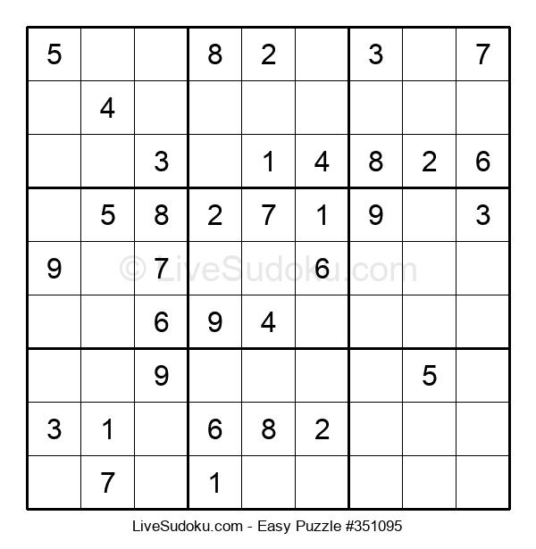 Beginners Puzzle #351095