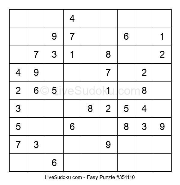 Beginners Puzzle #351110