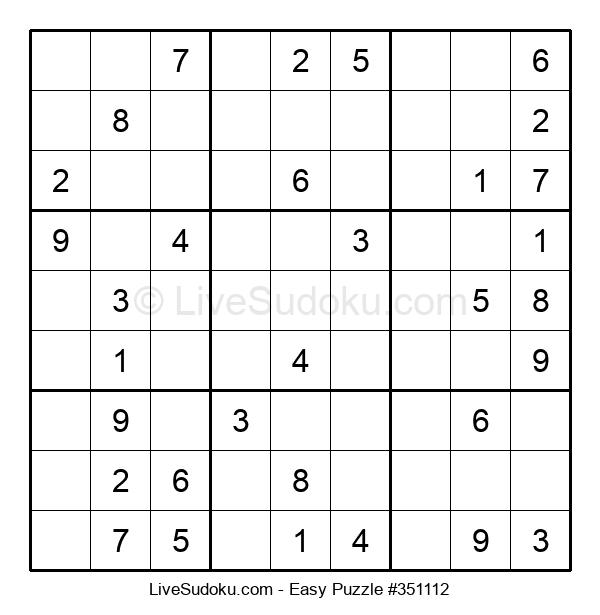 Beginners Puzzle #351112